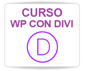 curso wordpress con divi